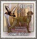 Pointer alemao de pelo curto, 2009 Guinea-Bissau Stamp (5)