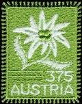 Unique Stamp(Embroidery) Austria