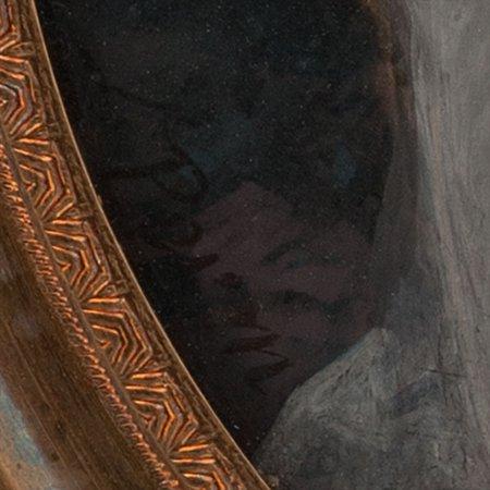 elderly gentleman with letter, louis-lié périn-salbreux art painting