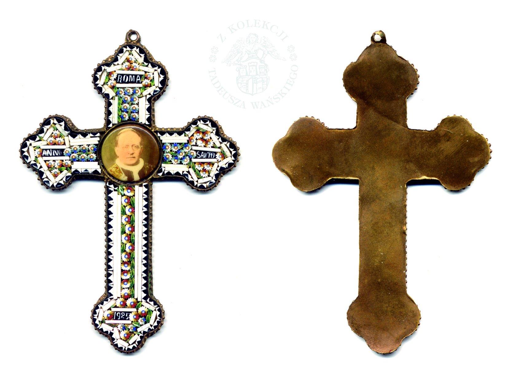 krzyż trójlistny - pamiątka roku jubileuszowego 1925 numismatics coins