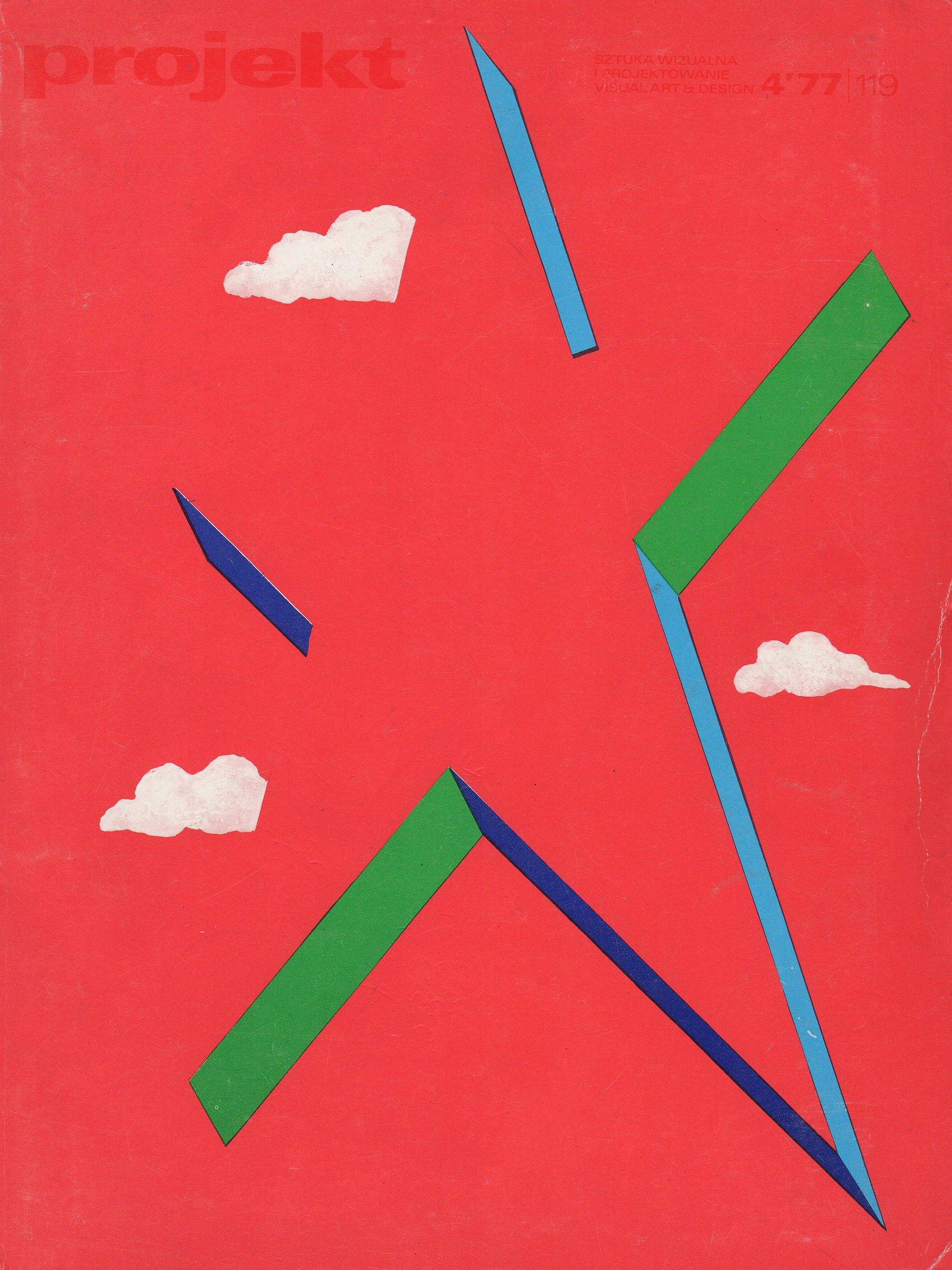 """projekt"" magazine, 1977-4 periodicals art & culture"