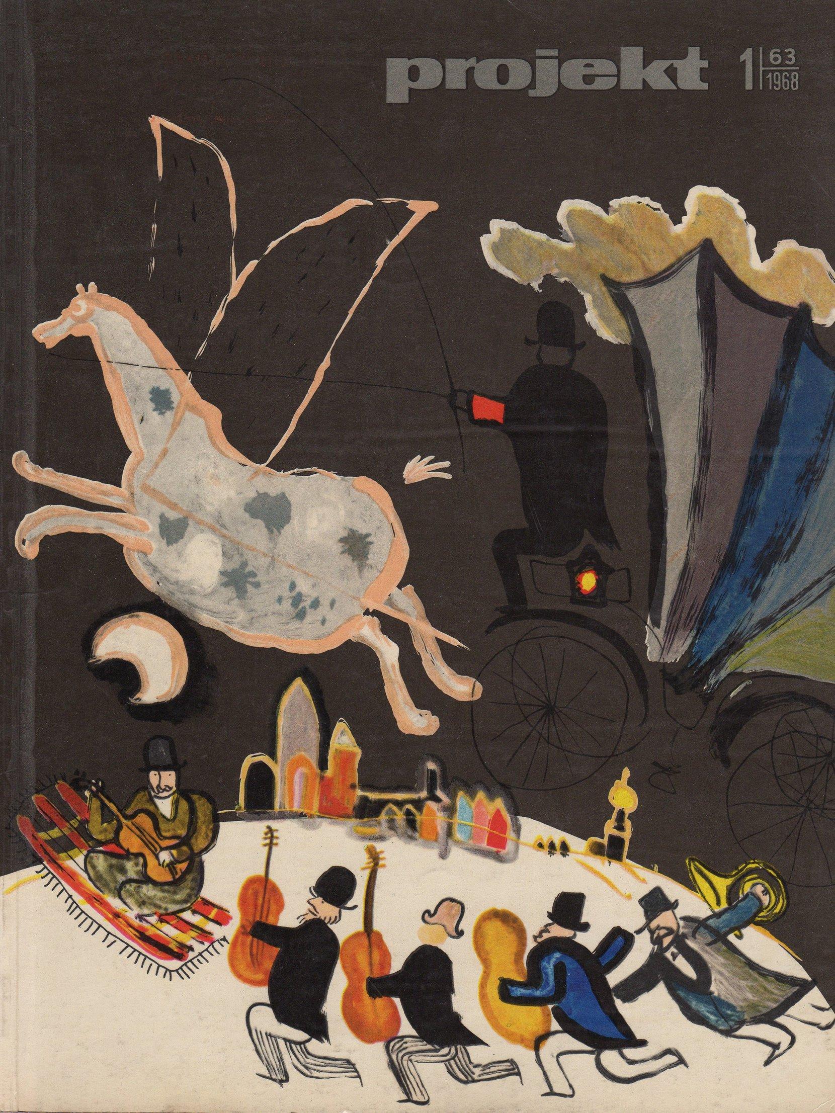 """projekt"" magazine, 1968-1 periodicals art & culture"