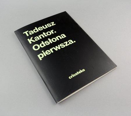 Tadeusz Kantor. Odsłona pierwsza