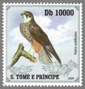Falco subueo, S.Tome e Principe Stamp (1)