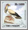 Sarcoramphus papa, S.Tome e Principe Stamp (3)