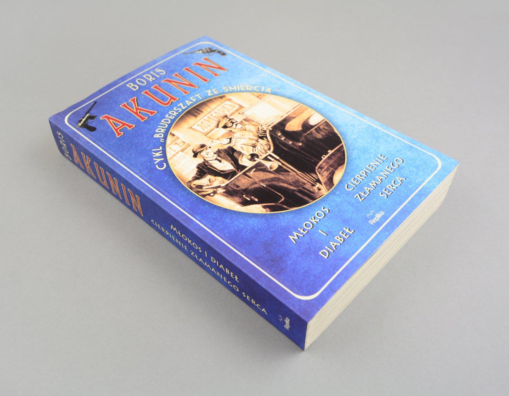 młokos i diabeł, cierpienie złamanego serca, boris akunin books art