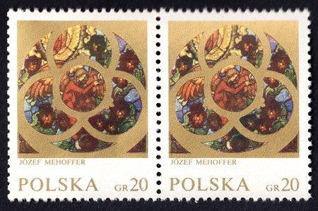 Józef Mehoffer – 20 gr Stamp