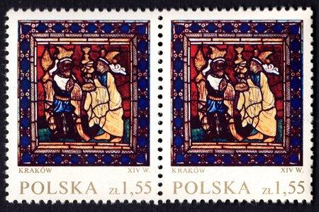 Kraków XIV w – 1,55 zł Stamp