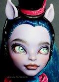 Avea Trotter -Monster High repaint OOAK doll