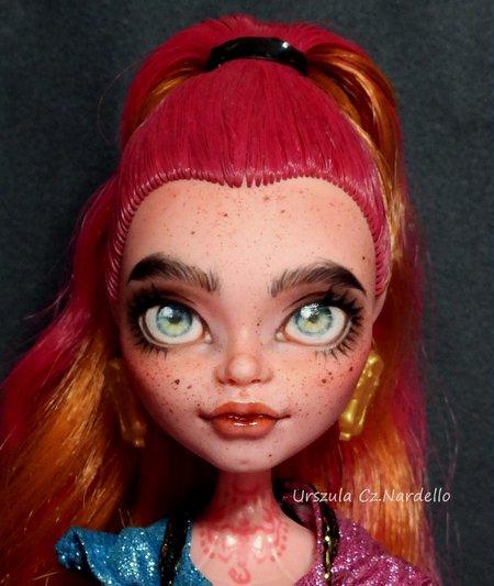 Gigi Grant -Monster High repaint OOAK doll