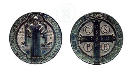 Medal św. Benedykta wz. 1880