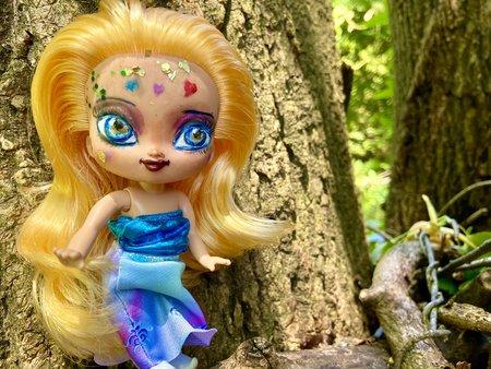 Rainbow Child OOAK doll