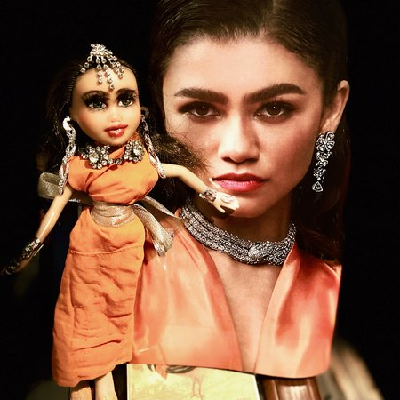 Princess of Northern India OOAK doll repaint Magazine Ad inspired.
