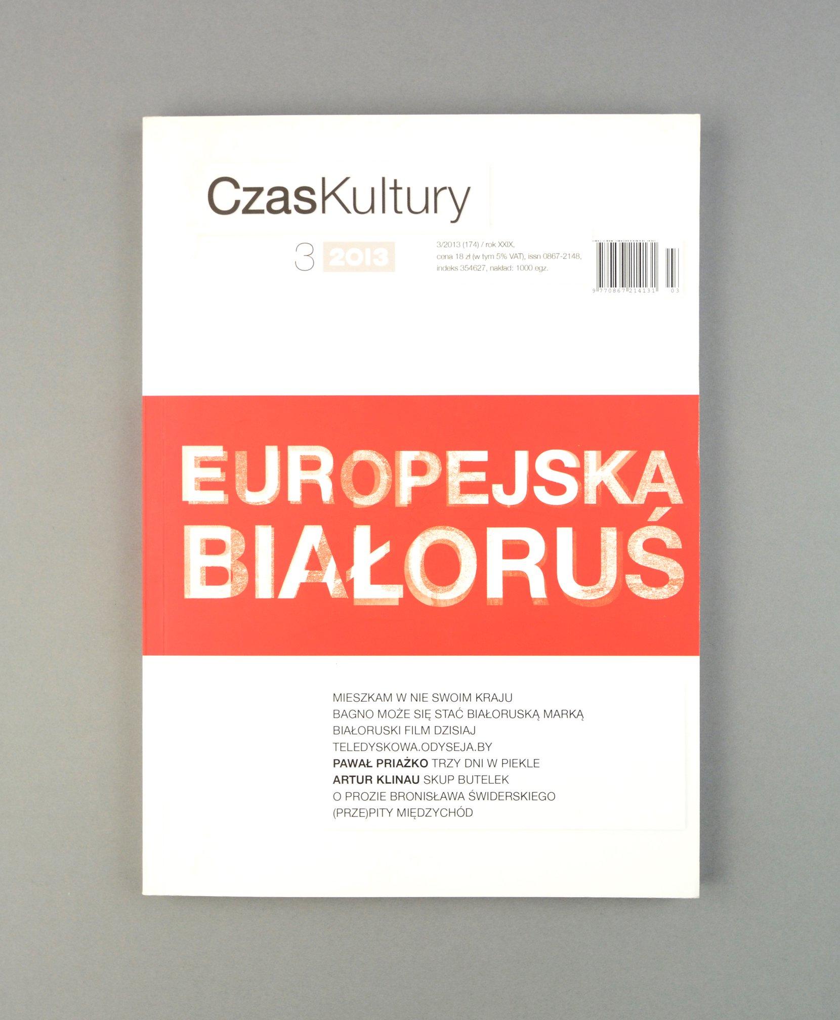 czas kultury no. 3/2013 periodicals art & culture
