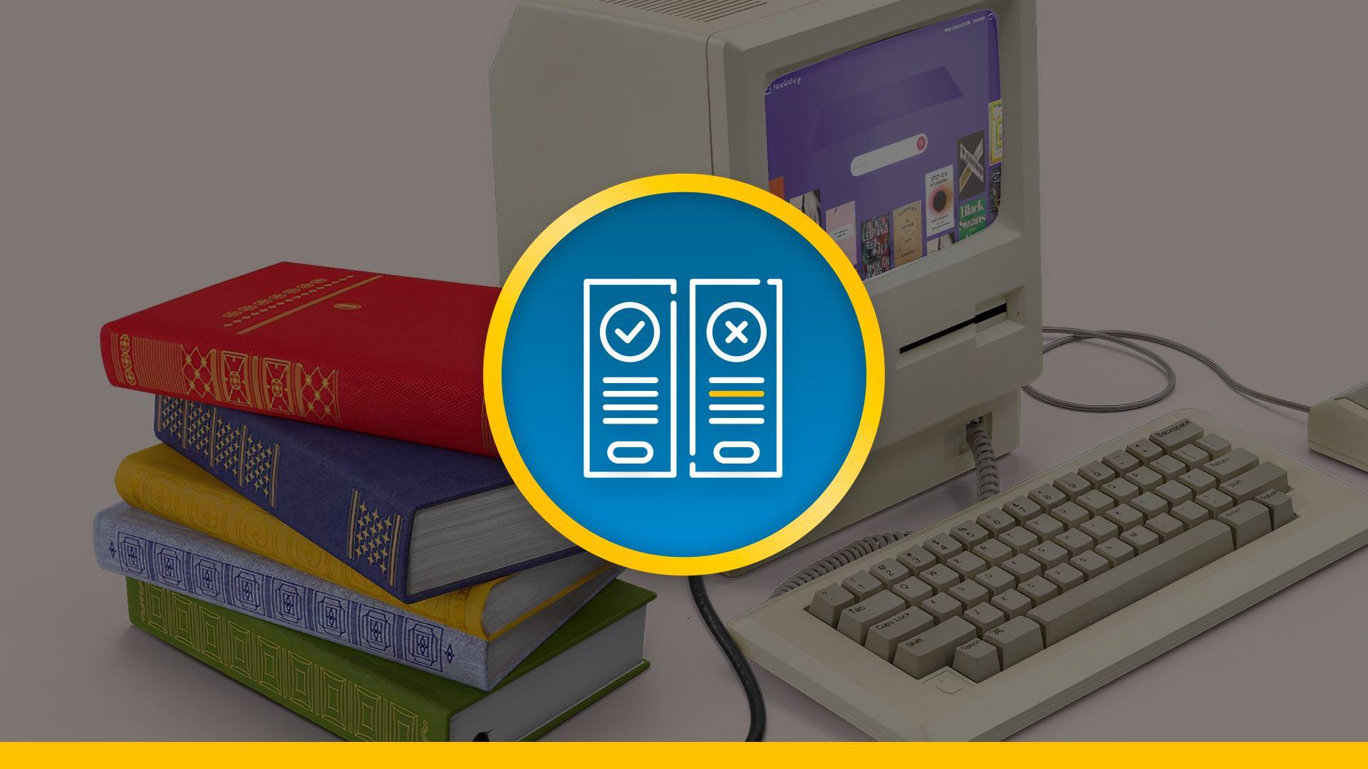 Computer en boeken