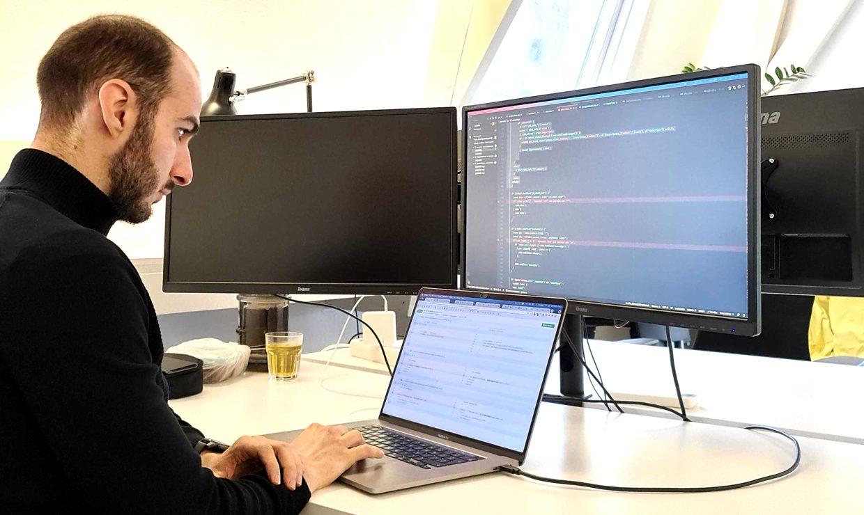 Full-stack developer Christian