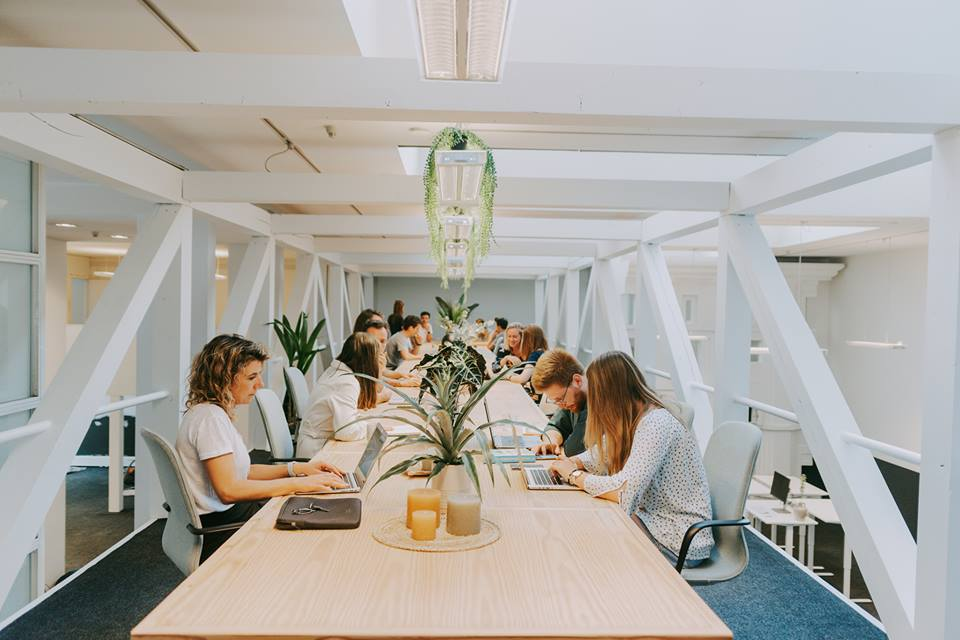 Co-working space Humgy Antwerpen