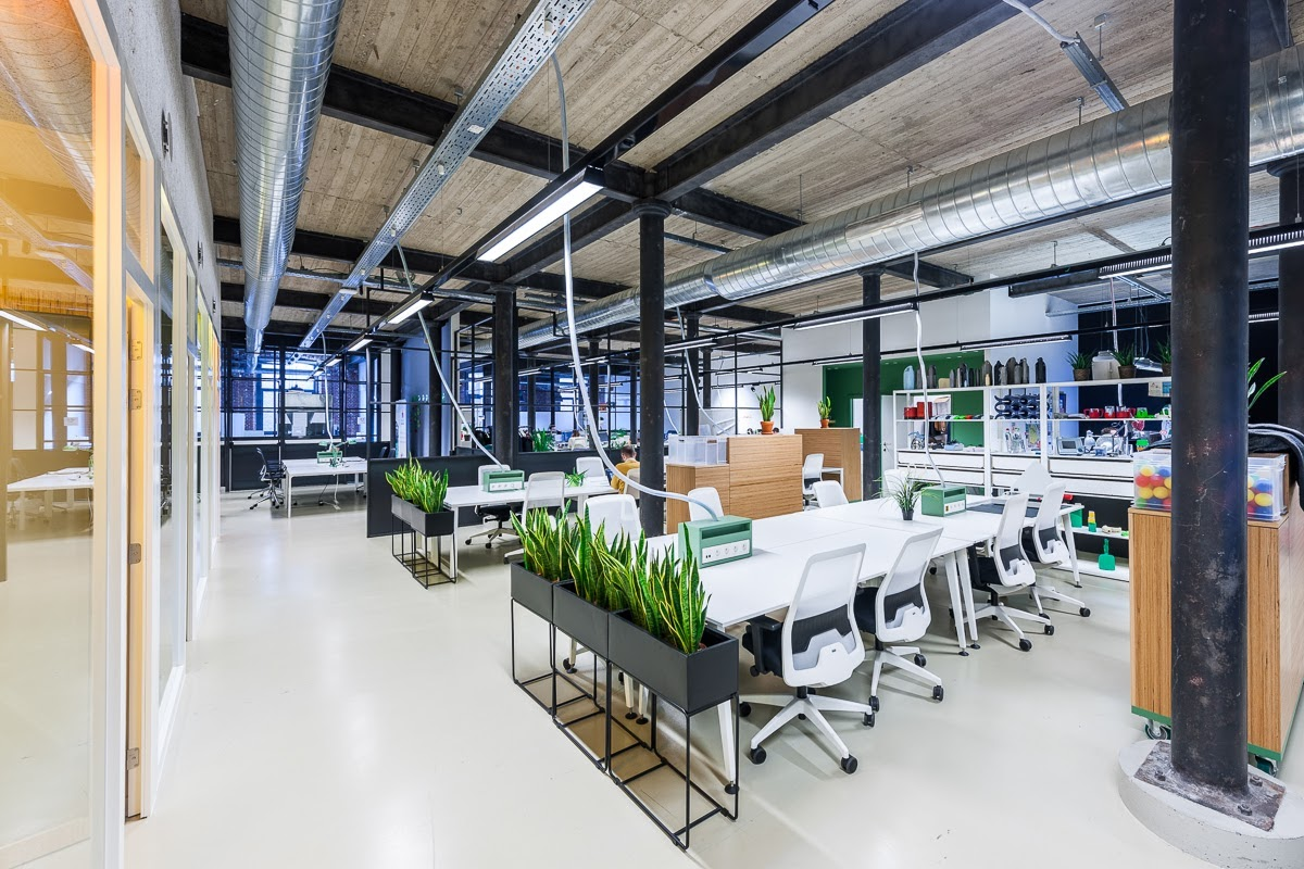 Co-working space House of Innovation Antwerpen