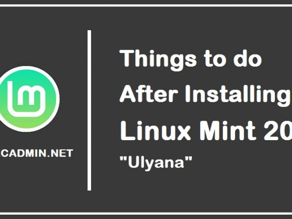 """Things To Do After Installing Linux Mint 20 """"Ulyana"""" Linux Distributions Linux Mint 20 Ulyana"""