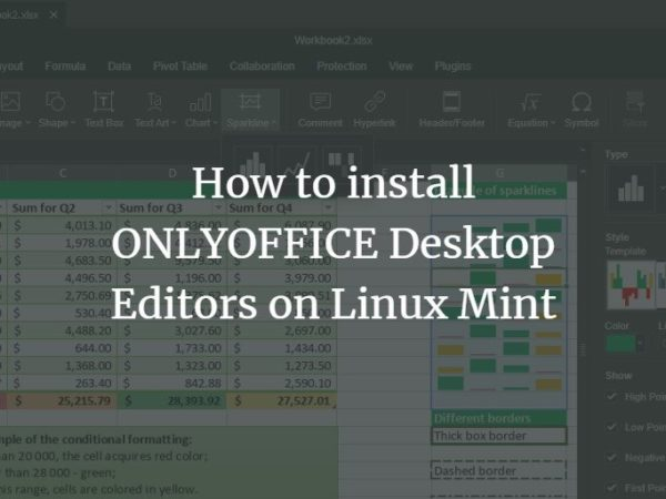 How to install ONLYOFFICE Desktop Editors on Linux Mint linux
