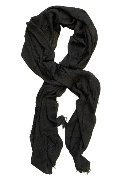 sjaal-zwart