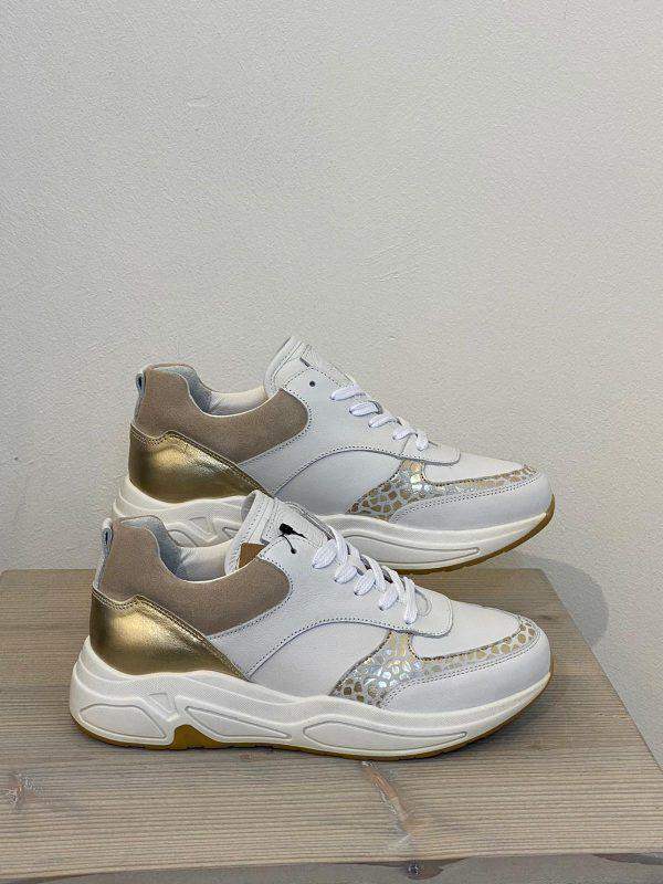 bull-boxer-sneakers-wit-goud
