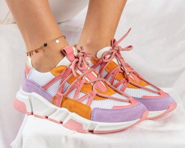dwrs-sneaker-los-angeles-suede-pink-orange