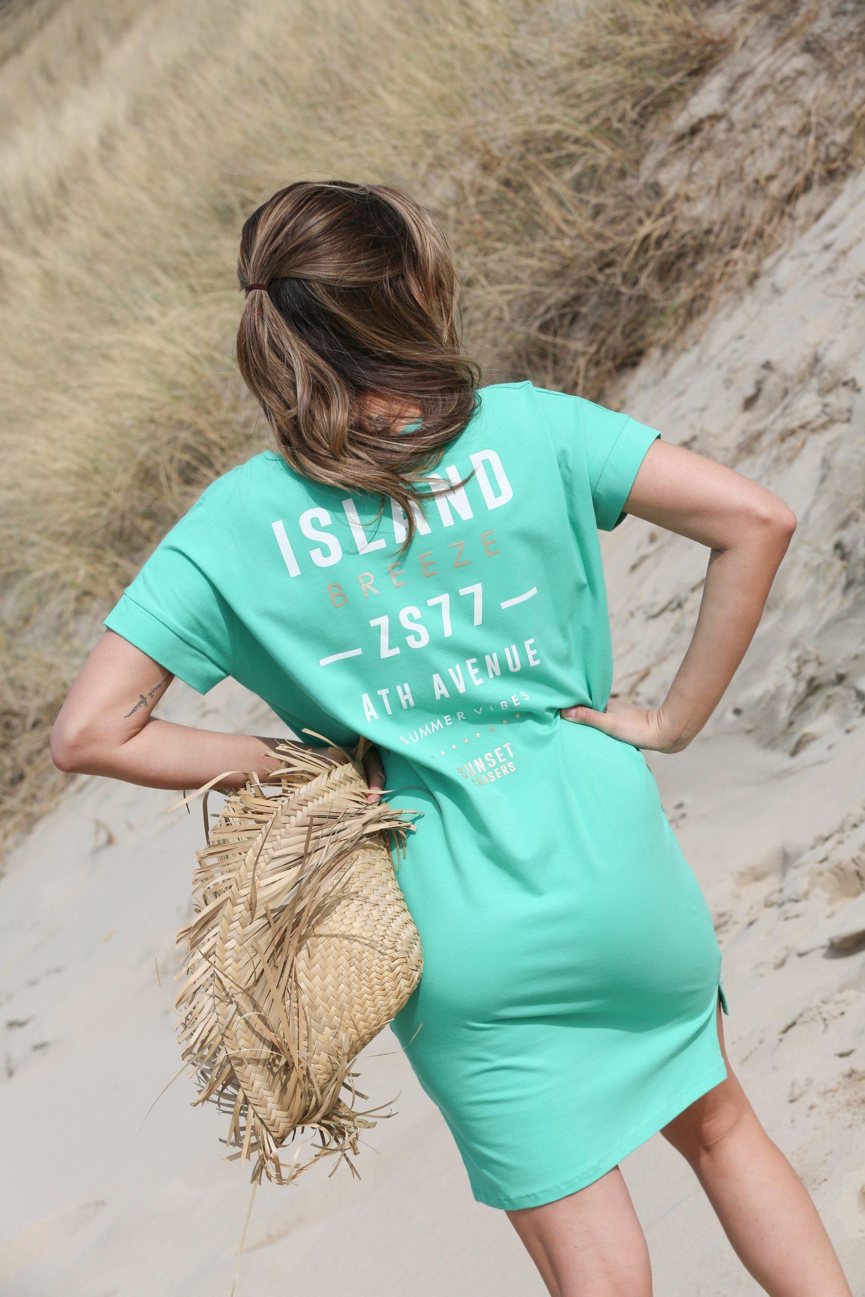 zoso island sporty dress green