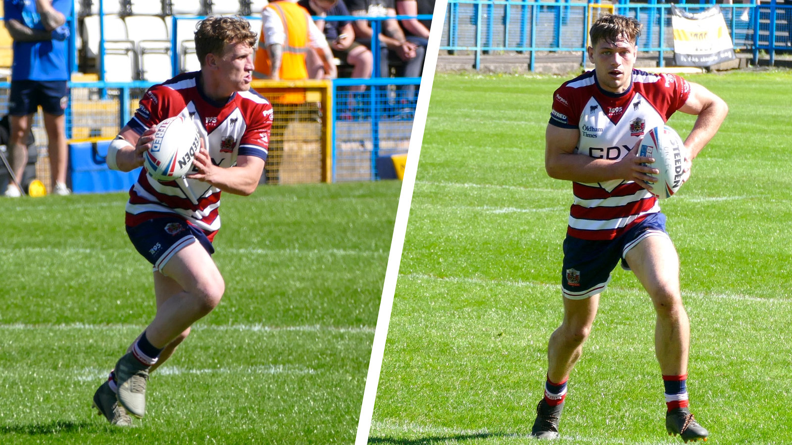 Gareth Owen and Liam Bent