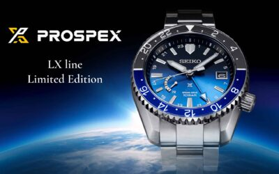 Seiko Prospex LX Line Sky limited edition SNR049 – A végtelen égbolt fényei