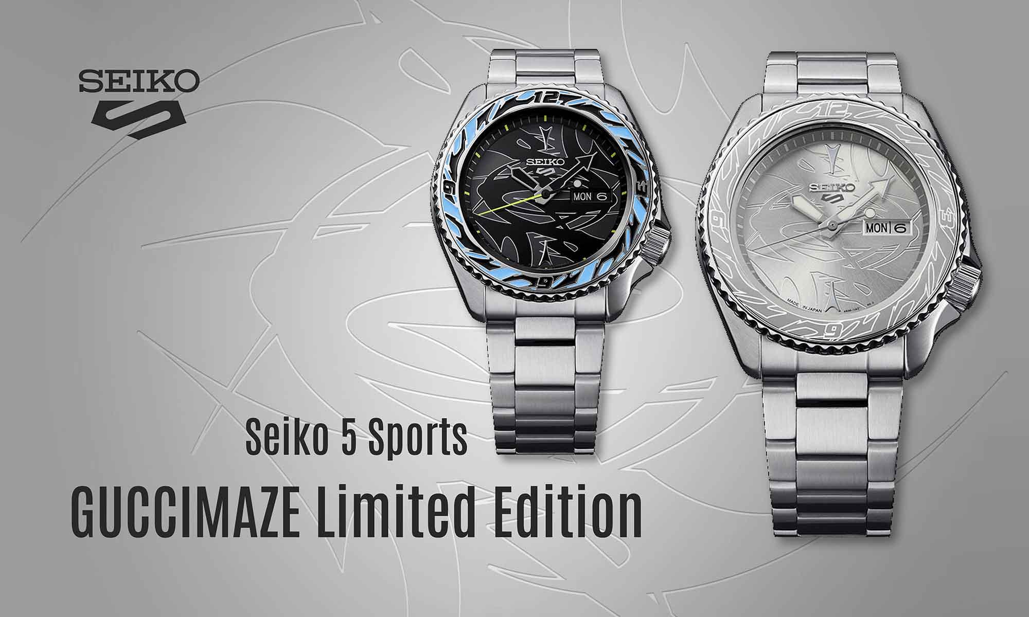 Seiko 5 Sports Guccimaze