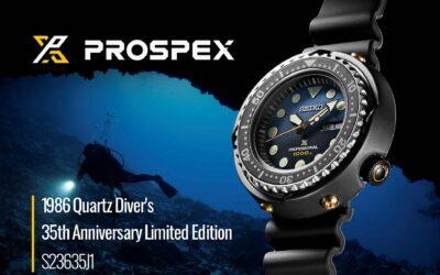 Extrém helyzetekre rendkívüli megoldás – Seiko Prospex Professional 1000m Quartz Diver's