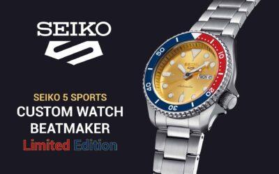 Seiko Custom Watch Beatmaker eredményhirdetés és egy ismerős újdonság