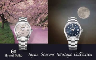 Grand Seiko Heritage Collection Japan Seasons special edition, avagy egy stílusos utazás az évszakokon át