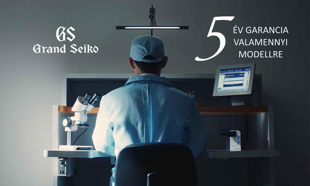 Grand Seiko garancia