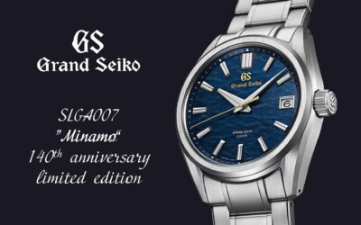 """Grand Seiko SLGA007 """"Minamo"""" limited edition, a fodrozódó Suwa tó tükre"""