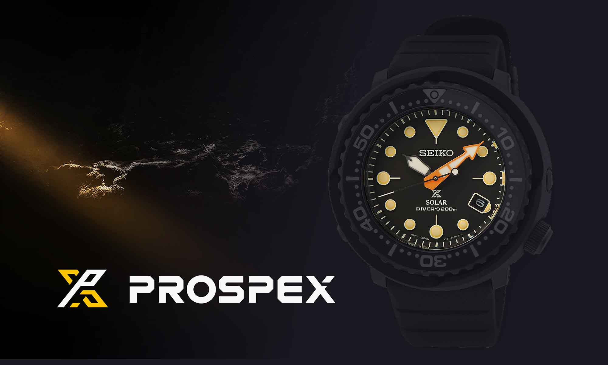 Seiko Prospex Black Series 2021 hero 2