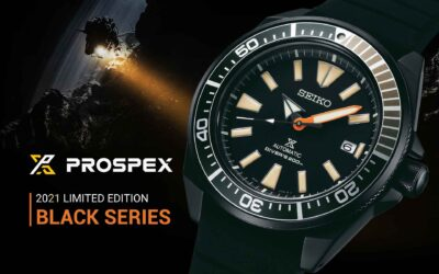 Seiko Prospex Black Series újratöltve – a 2021-es limitált Monster, Tuna és Samurai modellek megérkeztek