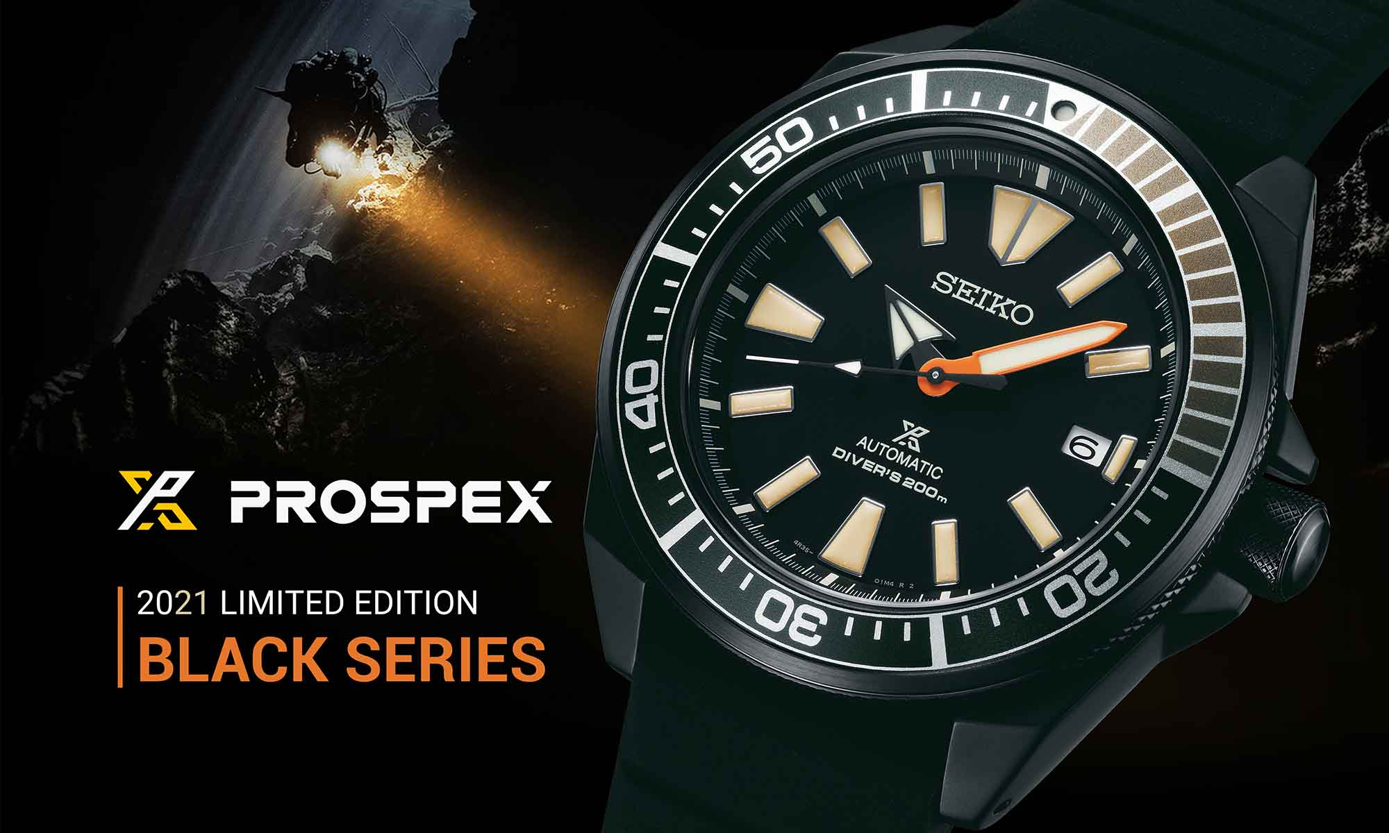 Seiko Prospex Black Series 2021 hero