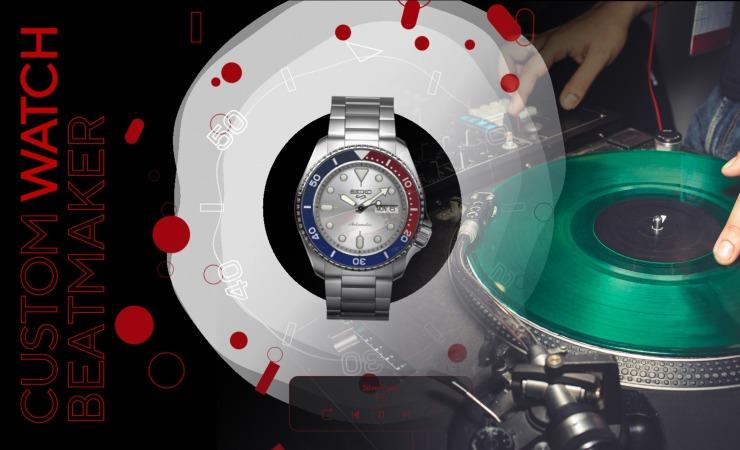 Custow watch beatmaker