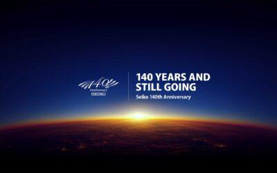 2021, a Seiko éve – újdonságok a 140. évforduló tiszteletére