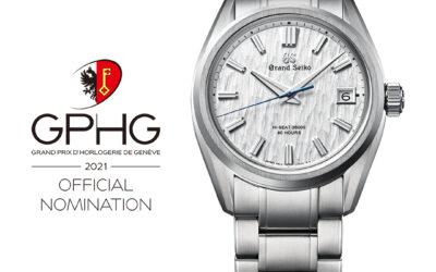 GPHG 2021: Grand Seko és Seiko órák a jelöltek között