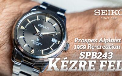 Kézre fel! Seiko Prospex Alpinist 1959 Re-creation SPB243J1