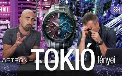Seiko Astron GPS Solar – Tokió fényei – Seiko Boutique TV S02E05