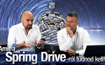 Amit a Spring Drive-ról tudnod kell! – Seiko Boutique TV – S02E08