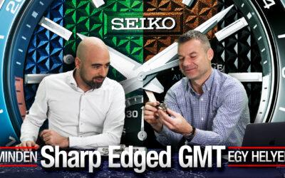 Minden Seiko Presage Sharp Edged GMT egy helyen – Seiko Boutique TV – S02E09