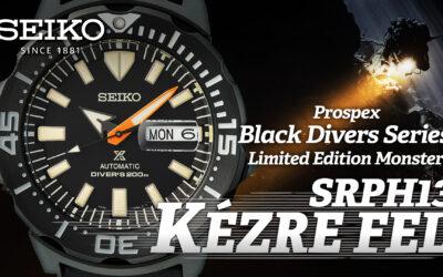 Kézre fel! Seiko Prospex Black Diver's Monster Limited Edition SRPH13K1
