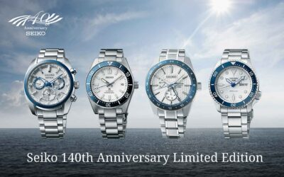 Seiko 140th Anniversary – Négy stílus, egy megjelenés