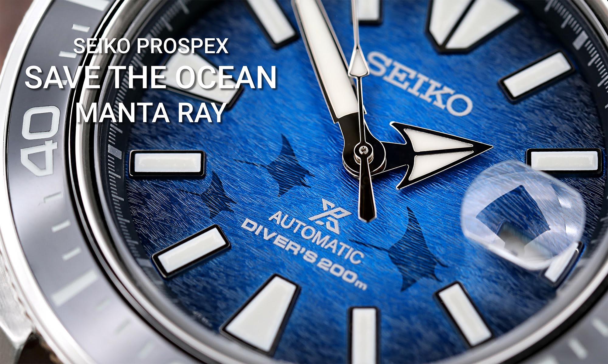 Save The Ocean Manta Ray