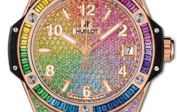 HUBLOT Big Bang Tutti Frutti 41 mm Black 341.CR.1110.LR.1913 watch Replica
